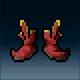 Sprite armor cloth mooncloth feet