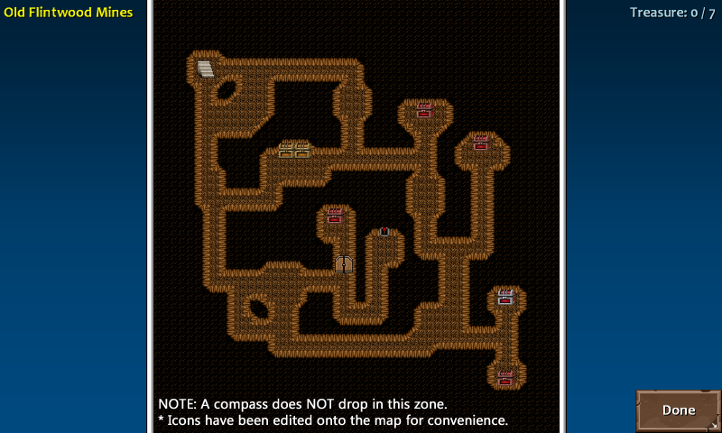 Map 1 flint 10 mines