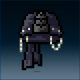 Sprite armor leather nightfang head