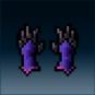 Sprite armor cloth duskflame hands