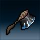 Sprite weapon baxe obsidian