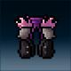 Sprite armor leather nightdrake legs