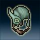 Sprite armor chain hammered head