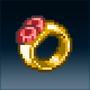 Sprite accessory ring black dex gcd