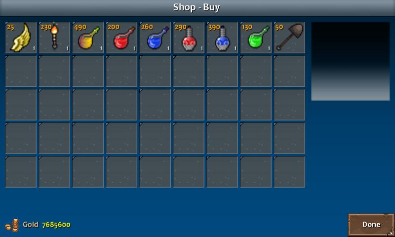 Shop 3 kera items