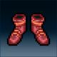 Sprite armor leather leather feet