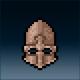Sprite armor plate tarnished head