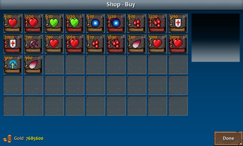 Shop 4 shadow spells clr
