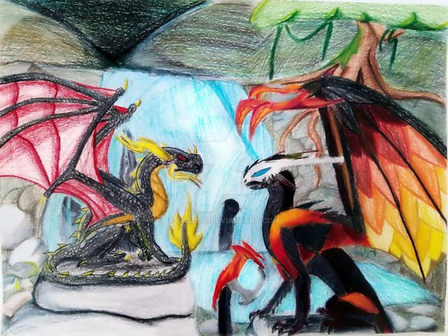 File:Ares and Nightfury Art Trade.jpg