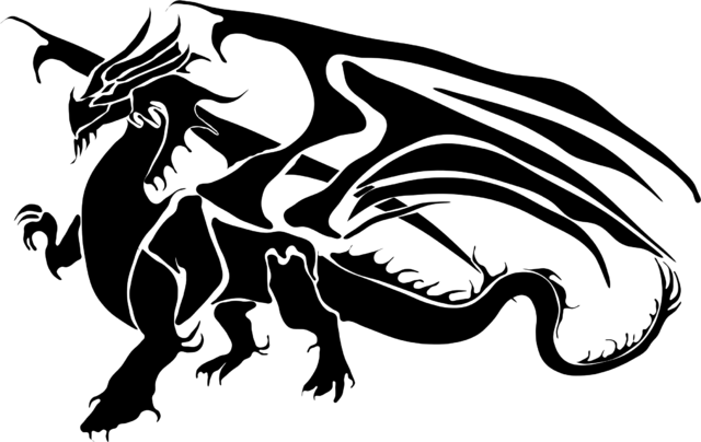 File:Dragon-Silhouette.png