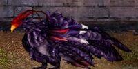 Scarlet-tinged Amethyst Dragon