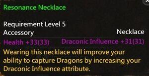 Resonance Necklace Info