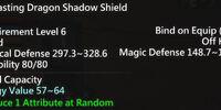 Everlasting Dragon Shadow Shield