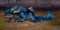 Sapphire Undertow Dragon