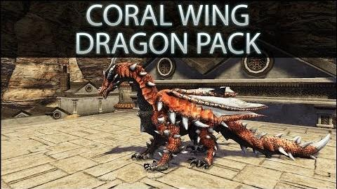 Dragon's Prophet Coral Wing