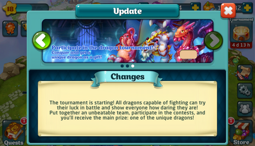 Tournament XXIX Update