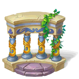 Columned BalustradeDecor