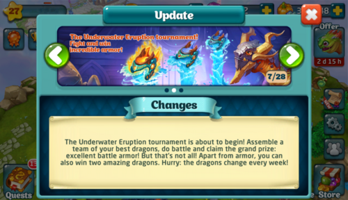 Tournament LXIX Update