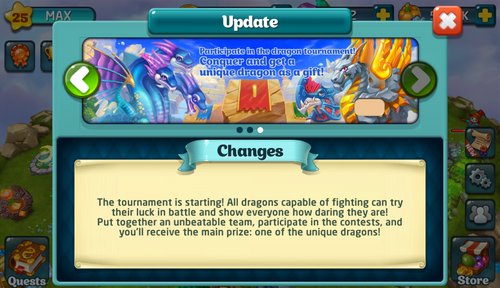 Tournament XXI Update