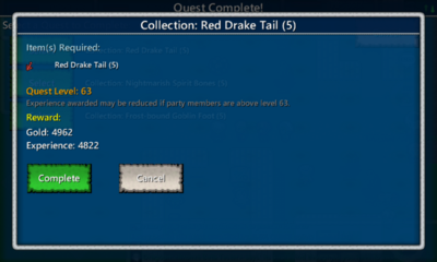 Collection-Red Drake Tail