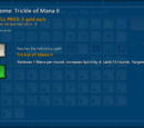 Tome: Trickle of Mana
