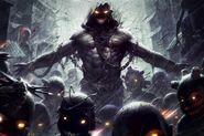Disturbed-Lost-Children-Monster-Chains-Eyes-Horror-Music-Fantasy-485x728