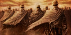 Desert sand ghosts picture image digital art
