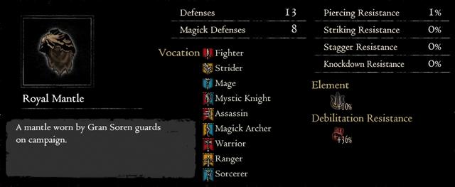Dragonforged Royal Mantle