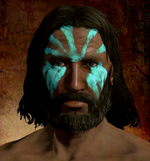 Turquoise Face Pigment