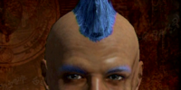 Cornflower Blue Hair Dye
