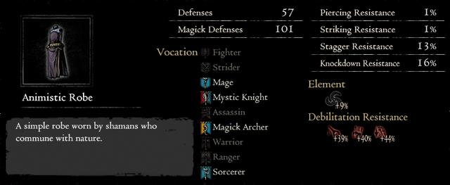 Dragonforged Animistic Robe