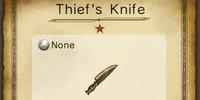Thief's Knife