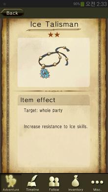 Ice Talisman