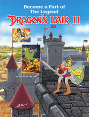 Dragon's Lair II - Time Warp Flyer