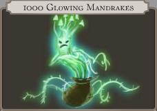1000 Glowing Mandrake icon