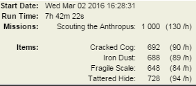 1000 Scouting the Antropus Tyche