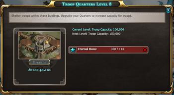 Troop Quarters