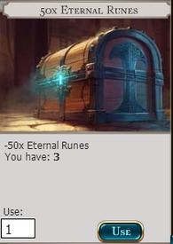 50x Eternal Runes
