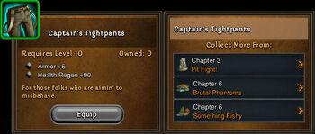 Captains tightpants