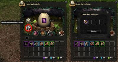 Remove-dragon use-chisel
