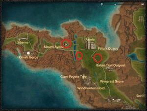 Greenscale Raptor Dragon locations