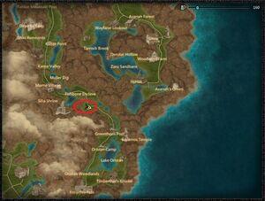 Kanze bloodbone dragon location