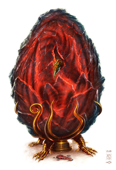 The Dragon s Egg by UdonCrew
