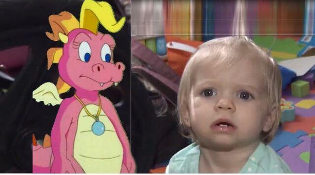 File:Cassie and Cam Clarke Baby.jpg