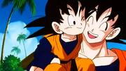 Goten meets Goku