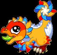 Firework Dragon Baby