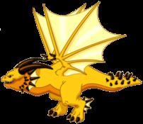 Sunstruck Dragon Adult