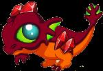 Garnet Dragon Baby