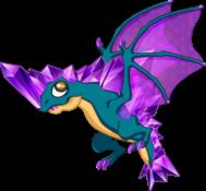 Amethyst Dragon Adult