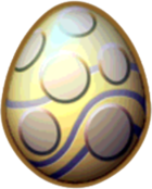Electrum Dragon Egg